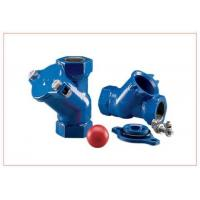 Industrial Horizontal Ball Check Valve For Sludge Pump / Low Pressure Drop Check Valves