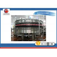 Soda Bottled Water Production Machines , Large Capacity Rotary Liquid Filling Machine
