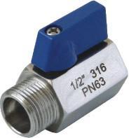 """Quality Mini ball valve, polishing mini valve M/F  1/4""""-1"""" for sale"""