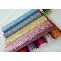 Shoes Bags Wallpaper Glitter Fabric Roll Knitted Backing Technics 0.6mm Thickness