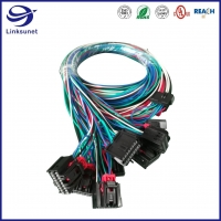 Quality Automobile Wiring Harness with OCS 0.64 2 - 16 pins Female Connector for sale