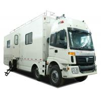 Quality FOTON  6x2 Outdoor Mobile Camping Truck With Living Room and Kitchen for sale