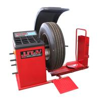 Quality Industrial Heavy Duty Truck Tire Balancer , Wheel Balancing Equipment 0.55kw for sale