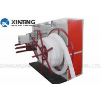 China Pe Pvc Corrugated Pipe Production Line , Siemens Motor Sprial Pipe Making Machine on sale