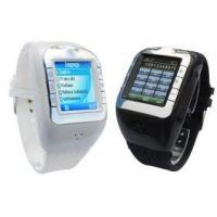 Quality Smart Quad-band GSM Multimedia Cell Phone Watch with Samsung TFT Touch Scree for sale