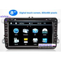 China 8'' Car Stereo GPS Navigation Headunit Multimedia for VOLKSWAGEN on sale