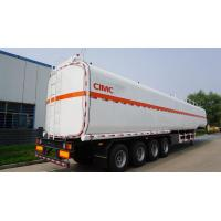 China CIMC diesel tanks type 3 axle widely used fuel trailers for sale on sale