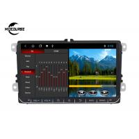 China 2 Din Volkswagen DVD Player GPS Navigation Android System 9 Inch Screen 1024*600P on sale