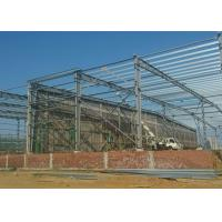 Quality Light Steel Frame Workshop Buildings Paint / Galvanized With 50 Years Lifespan for sale