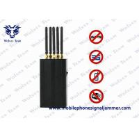 Quality 5 Antenna Portable Cell Phone WIFi GPS L1 Mobile Phone Signal Jammer for sale