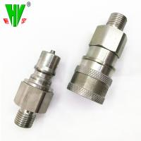 Quality Wide range hydraulic fitting types quick couplers flat face quick coupling for sale