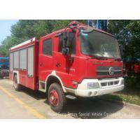 Quality Offroad 4X4 Rescue Fire Truck With 3000 Liters Water Tank 1500 Liters Foam for sale