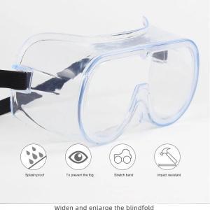 Quality coronavirus protective anti virus eye glassed, protective goggles Anti-Fog Protective Safety Glasses for sale