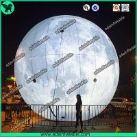 Quality Lighting Inflatable Moon,Event Inflatable Moon,Club Hanging Decoration for sale