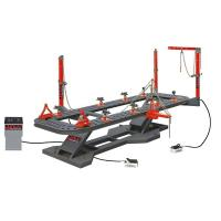 Quality Durable Auto Body Collision Repair System Table Length 6200mm Post Working Range 360° for sale