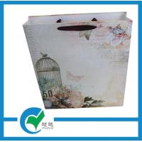 Quality Shopping matte laminated paper carrier bags printed with kaser craft elegant printing for sale