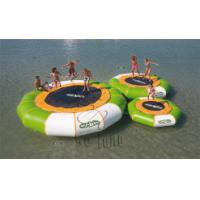 China Best quality giant inflatable trampoline&inflatable water games on sale