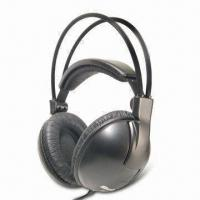 Quality Deluxe Hi-Fi Monitor Stereo Headphones with 40mm Driver Unit and 3.5mm Stereo Plug for sale