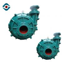 Quality Single Stage Horizontal Industrial Slurry Pumps With Fluoro Plastic Rubber Lined for sale