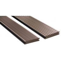 China Wood Plastic Composite WPC Composite Decking Customised Length igh Strength on sale