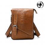 Quality 2019 latest Stereoscopic pattern crocodile bag designer man bag dropshipping usa bag men's leather for sale
