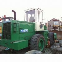 China Used Kawasaki Wheel Loader, Measures 7.7 x 2.7 x 3.5m, with 28,670lbs or 127.5kN Breakout Force on sale