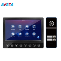 "Quality 7""Ahd Screen Motion Detection Video Doorbell Intercom with CCTV camera and PIR sensor for sale"