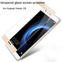 Quality tempered glass screen protector for Huawei Honor V8/Honor V8/Huawei V8 5.7inch Full screen coverage 0.33mm ultrathin HD for sale