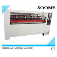 Quality Manual Feeding Function Thin Blade Slitter Scorer Machine  Cutting Corrugated Steel Blade for sale