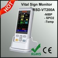 Quality The smallest 3.5inch Handheld Portable Vital Sign Patient Monitor Manufacturer for sale