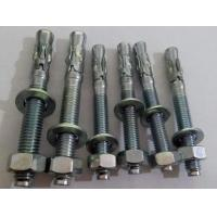 Quality Customized Concrete Expansion Anchors Concrete Wedge Bolt Fast Easy Installation for sale