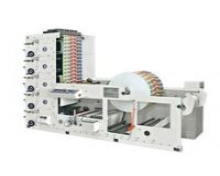 Quality RY480-5C Five colors UV dryer flexo printing label machine Automatically printing machine for sale