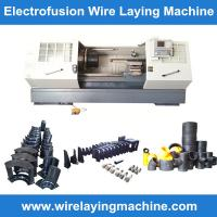 China PE electrofusion fittings wire laying-Electrofusion coupling wire laying machine on sale