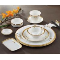 Quality Hotel Restaurant Ceramic Fish Plate for sale