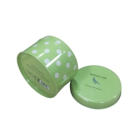 Quality Diameter 100mm Round Metal Tin Box For Candy Packing for sale