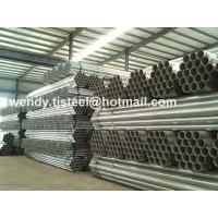 Quality en 10255 astm a53 galvanized steel pipe Stock BS1387 export to Chile for sale