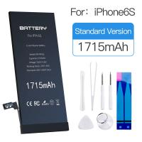 China MSDS Lithium Ion Battery Iphone Rechargeable Oem Apple 6s Phone Battery on sale