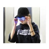 Quality 2019 New Hot Novelty Sound Activated USB Charging Scrolling Flashing Music Led Glasses for sale