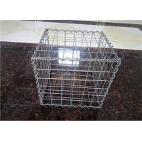 Quality Stone Cage Retaining Wall Gabion Baskets , Gabion Mesh Cage Easy To Install for sale