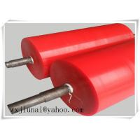 Quality Belt Polyurethane Gravity Conveyor Roller Abrasion Resistance for sale