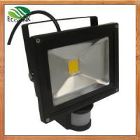 Quality China LED Lighting /10 W LED Flood Light with Sensor with Die Casting Aluminium for sale