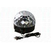 Colorful Led Crystal Magic Ball Light With  Remote Controller / Sound Controlled