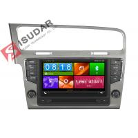 China Mirror Link VW Golf Dvd Player , Volkswagen Touch Screen Radio Support Steering Wheel Control on sale
