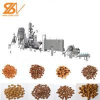 Quality High Speed Processing Pet Feed Pellet Making Machine With Siemens Motor for sale