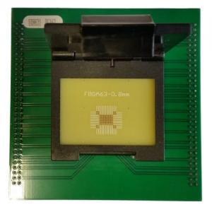 China FBGA63 programming adapter for UP818 UP828 FBGA63 socket adapter wholesale