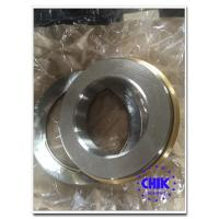 Quality Rubber / Metal Sealed Cap Single Row Thrust Ball Bearings with chrome steel for sale