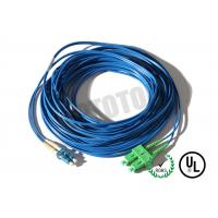 Buy Dark Blue Jacket , LC - SC Connector Fiber Patch Cord , SM OS2 BI , 2 Fiber Zip 2mm OFNR at wholesale prices