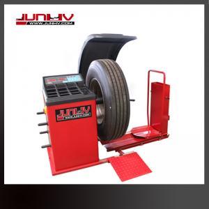 Quality 0.55kw Truck Tire Balancer , Automatic Wheel Balancer 200rmp 220V High Accuracy for sale