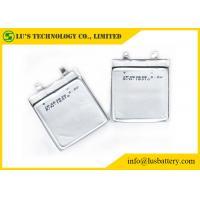 Non Rechargeable Ultra Slim Battery , Ultra Thin Lipo Battery CP263638