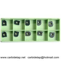 Solid carbide milling inserts D3200-D08